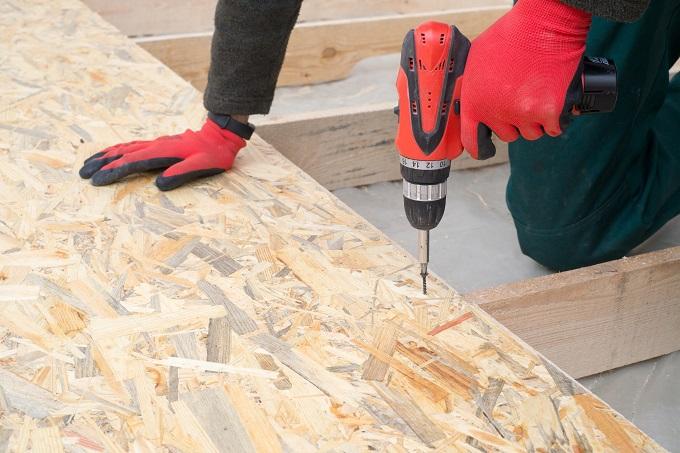 OSB как это сильно сжатая композитная строительная плита