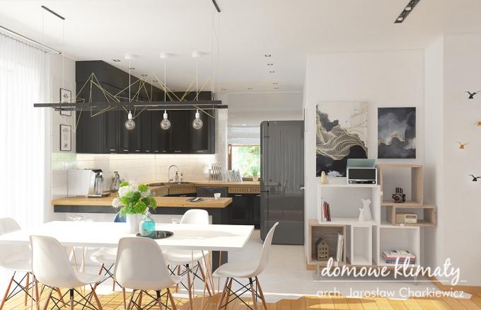Projekt domu Antares T, wizualizacja 6