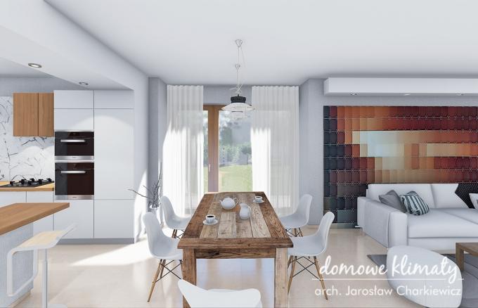 Projekt domu Bagatela V G2, wizualizacja 8