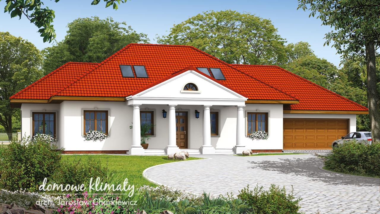 Projekt domu - Absynt II