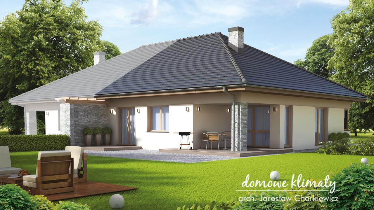 Projekt domu - Aster (segment)