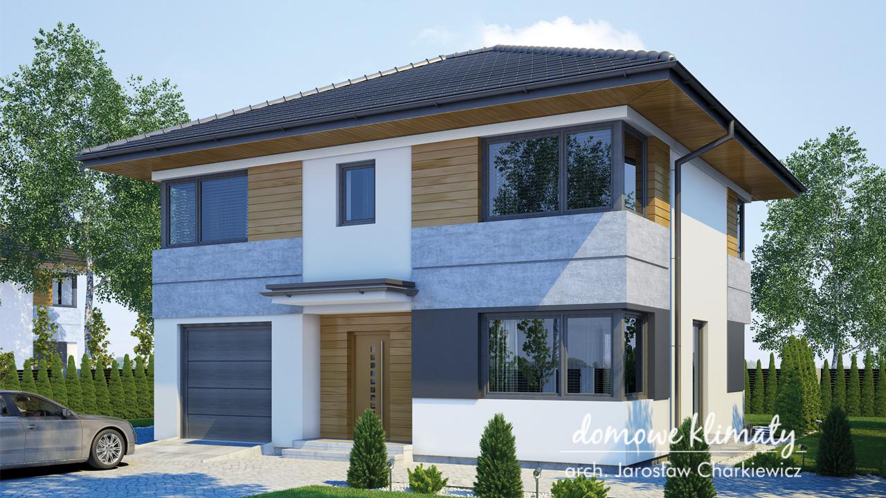 Projekt domu - Astra