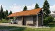 Projekt domu - Budynek gospodarczy BG1