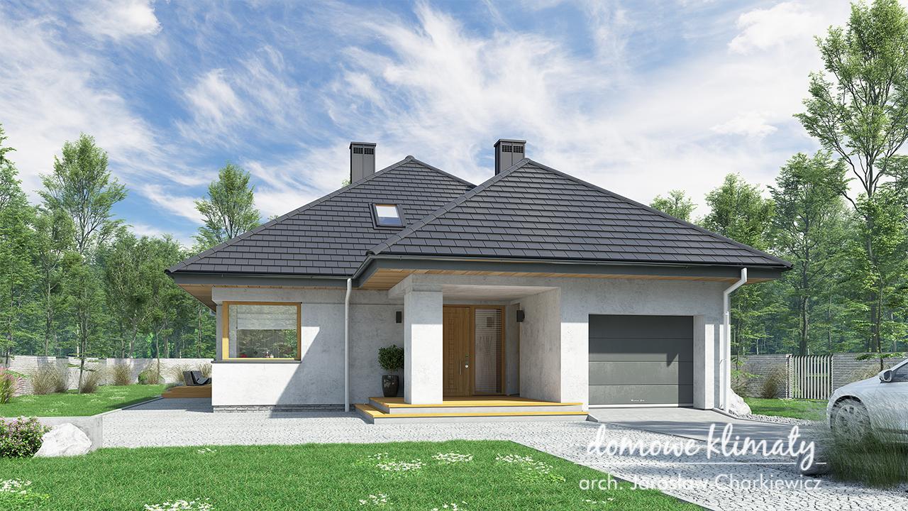 Projekt domu - Bagatela II