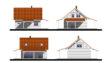 Projekt domu - Czarna