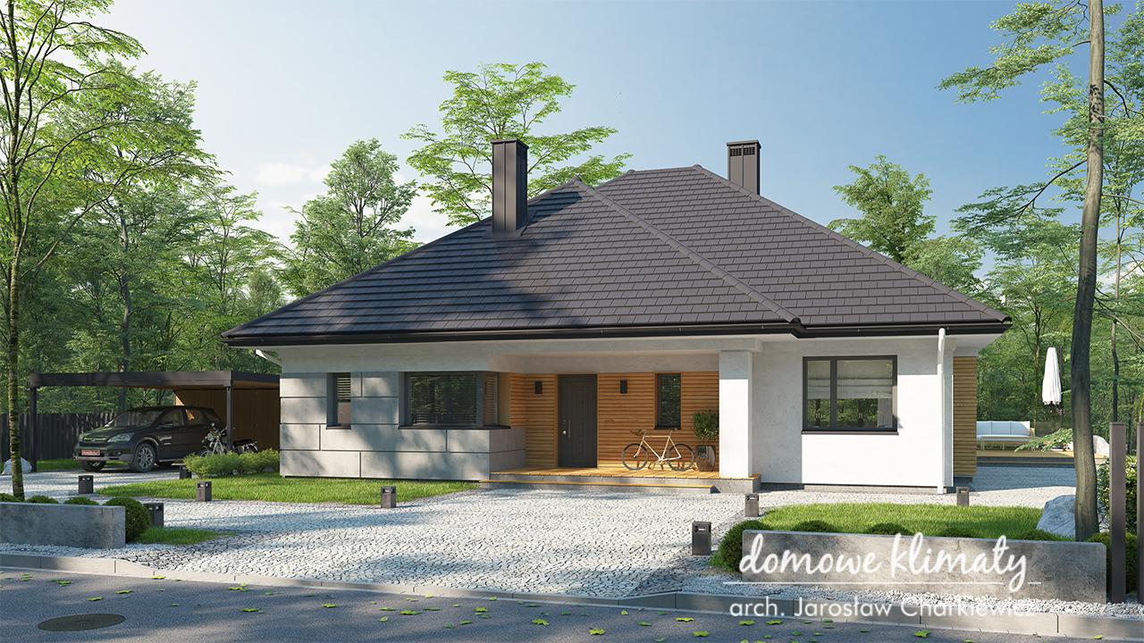 Projekt domu - Delta