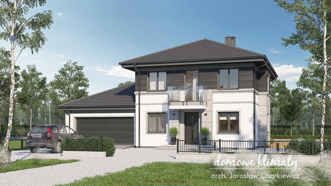 Projekt domu - Kastor II G2
