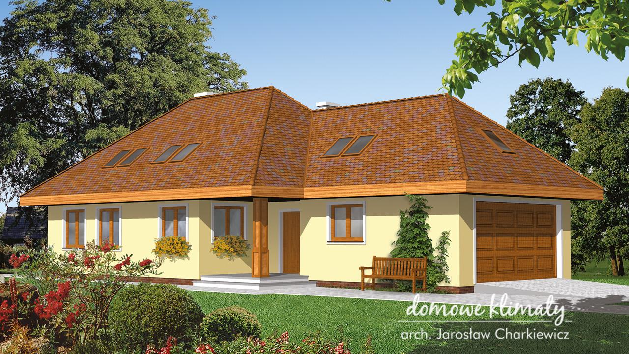 Projekt domu - Kora II