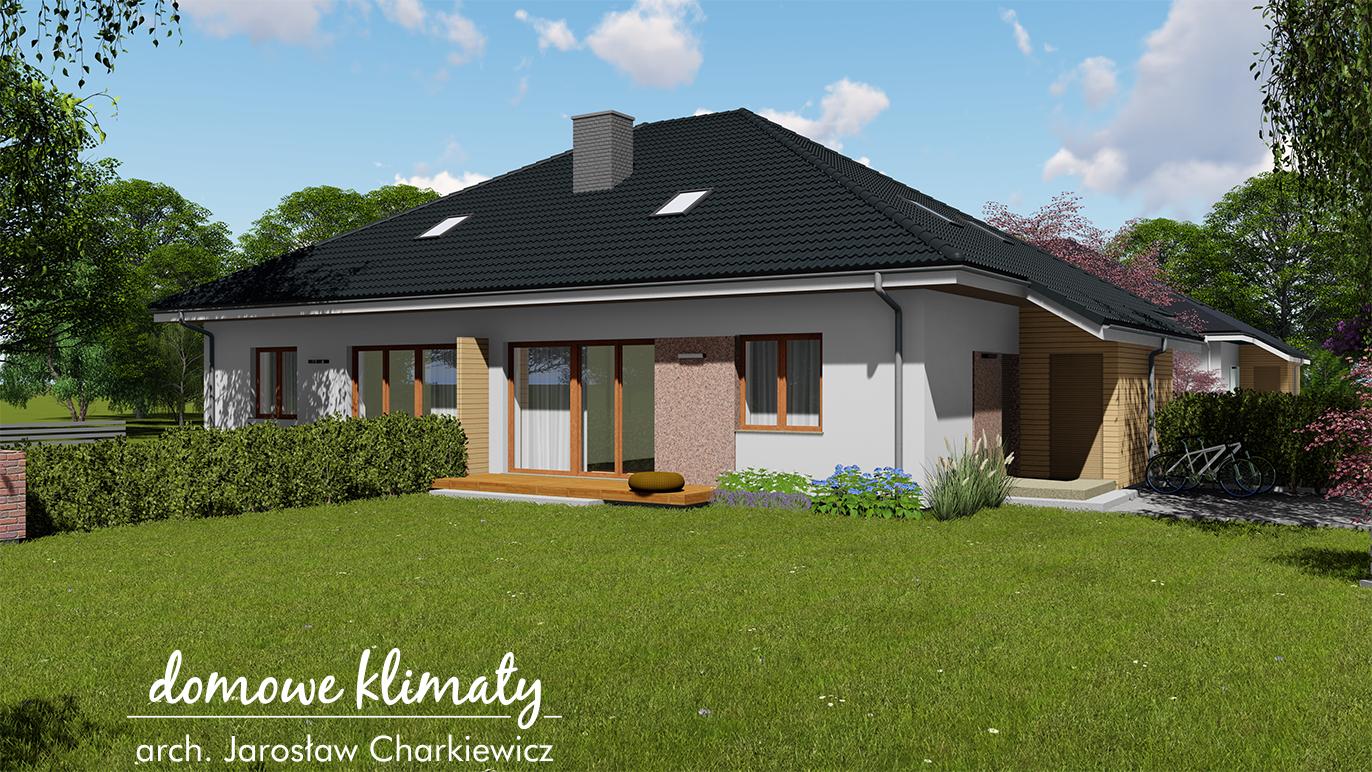 Projekt domu - Koniczynka