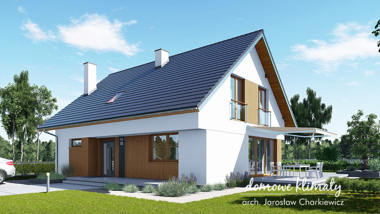Projekt domu - Ptyś 4