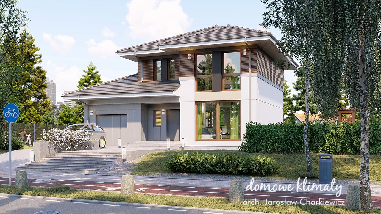 Projekt domu - Szafir G