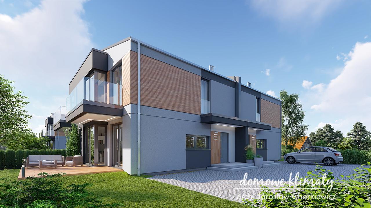 Projekt domu - Szarotka 11