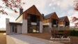 Projekt domu - Szpinak 2G (N) szeregówka