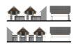 Projekt domu - Szpinak 2G (T) szeregówka