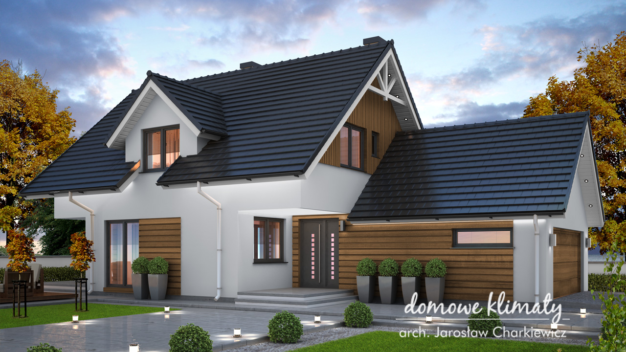 Projekt domu - Akord III