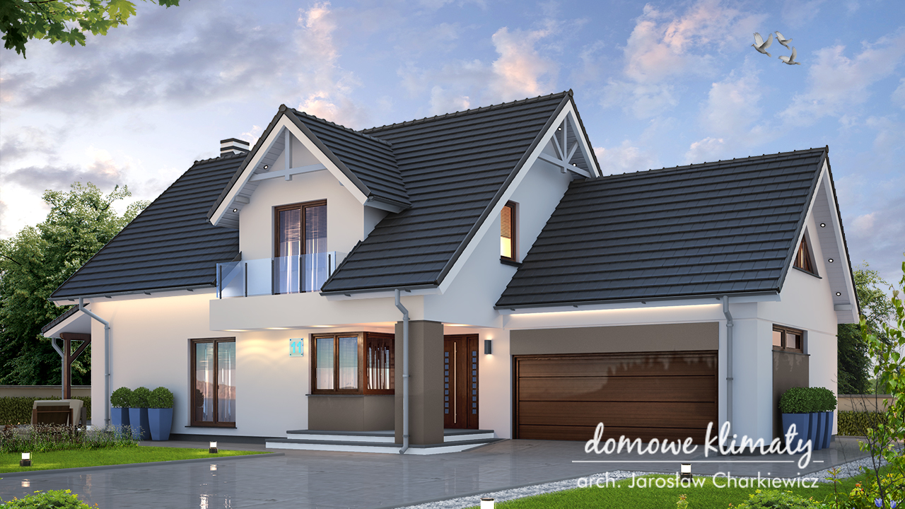 Projekt domu - Akord VI
