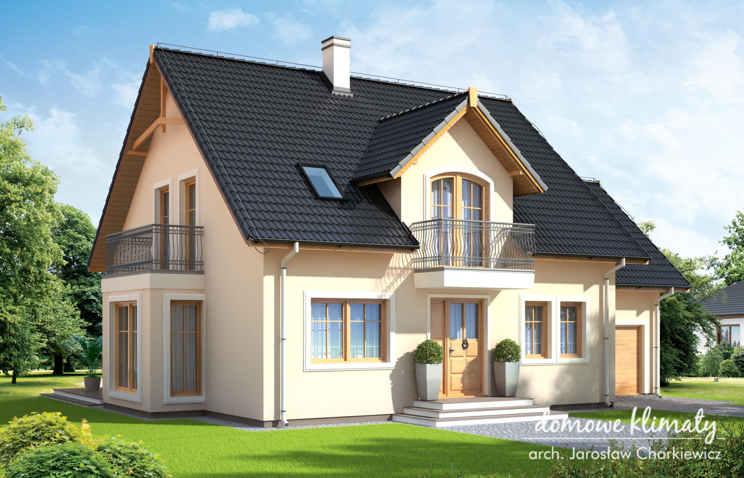 Projekt domu - Alabaster II