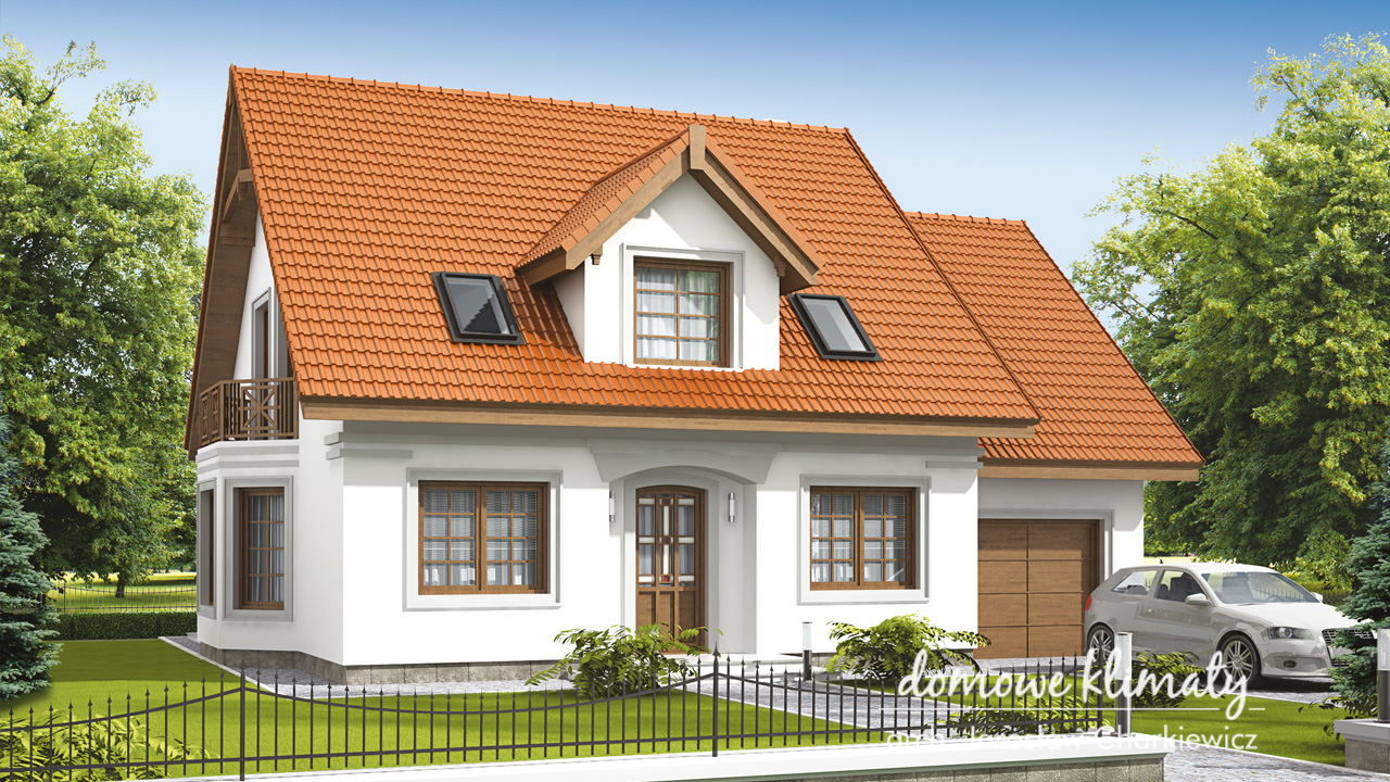 Projekt domu - Amaltea