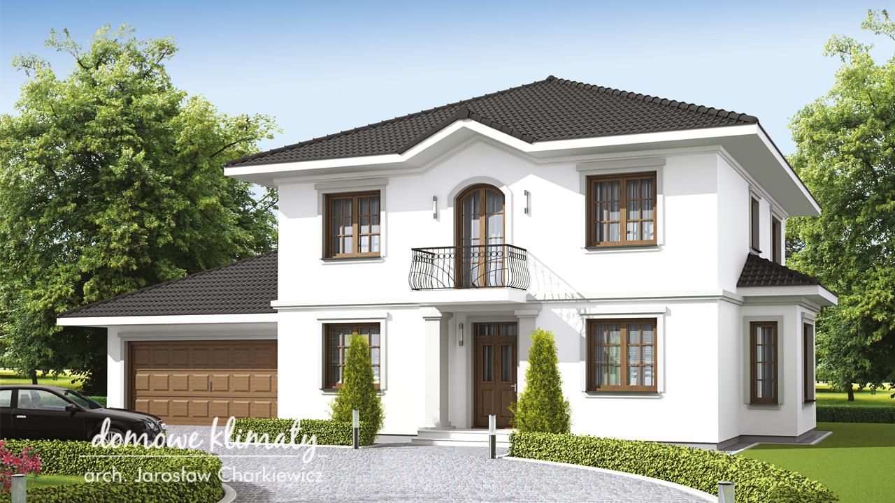 Projekt domu - Antonina