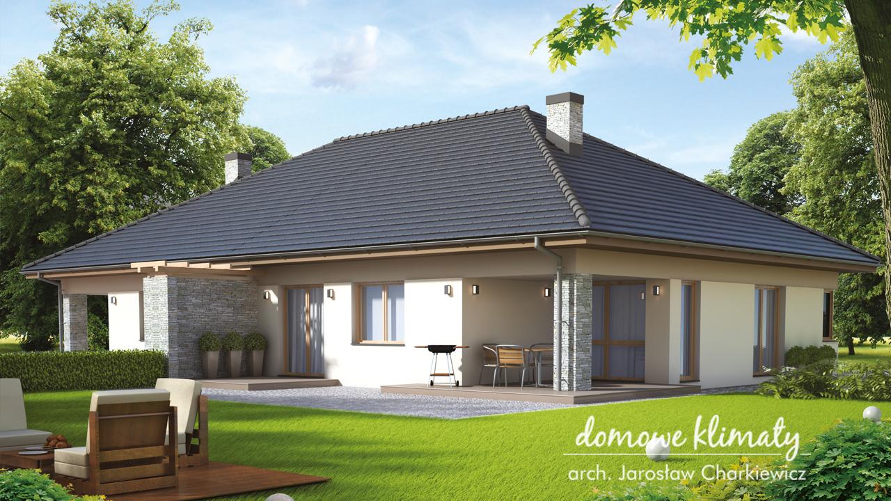 Projekt domu - Aster