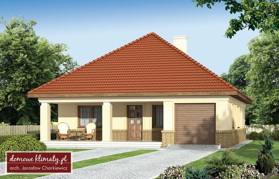 Projekt domu - Alt II