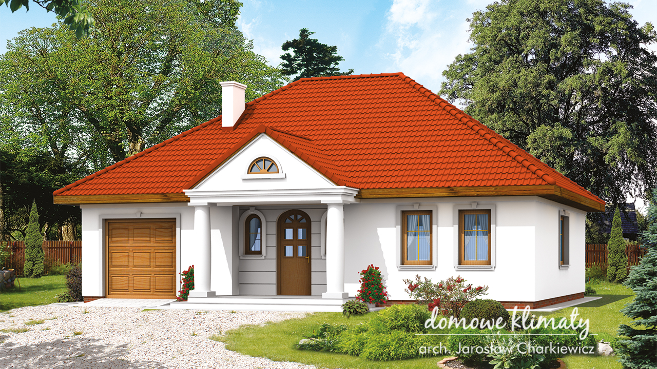 Projekt domu - Azyl N