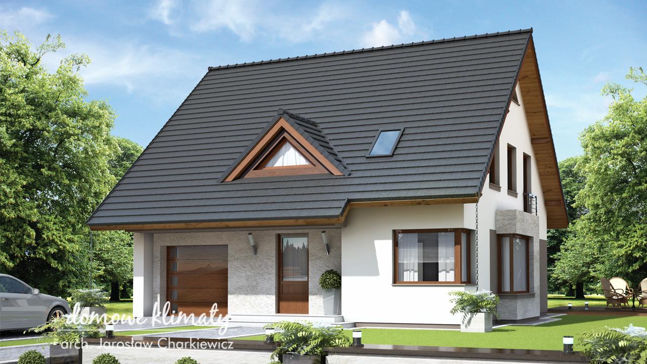 Projekt domu - Balbina