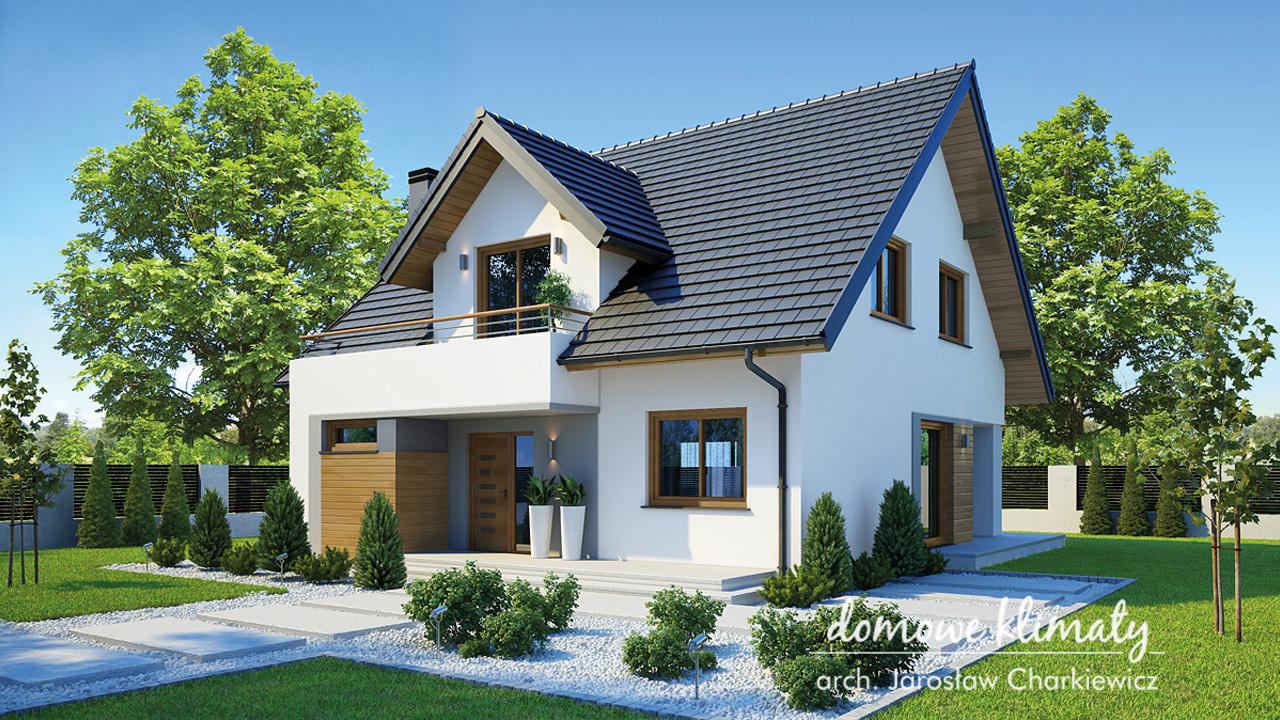Projekt domu - Bławatek VIII