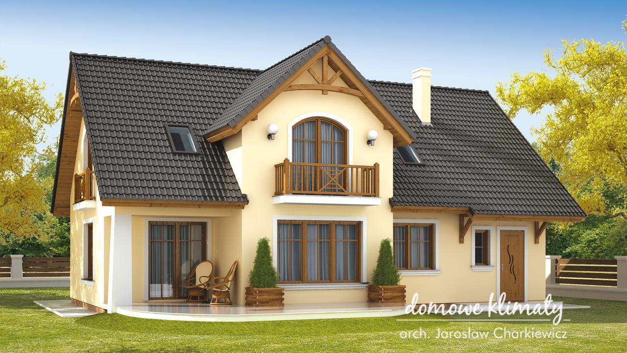 Projekt domu - Bławatek III