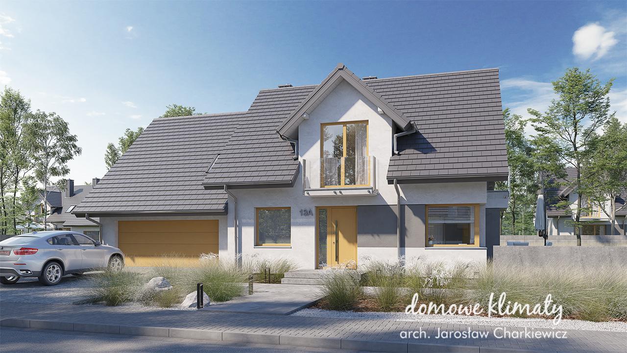 Projekt domu - Bratek II G2