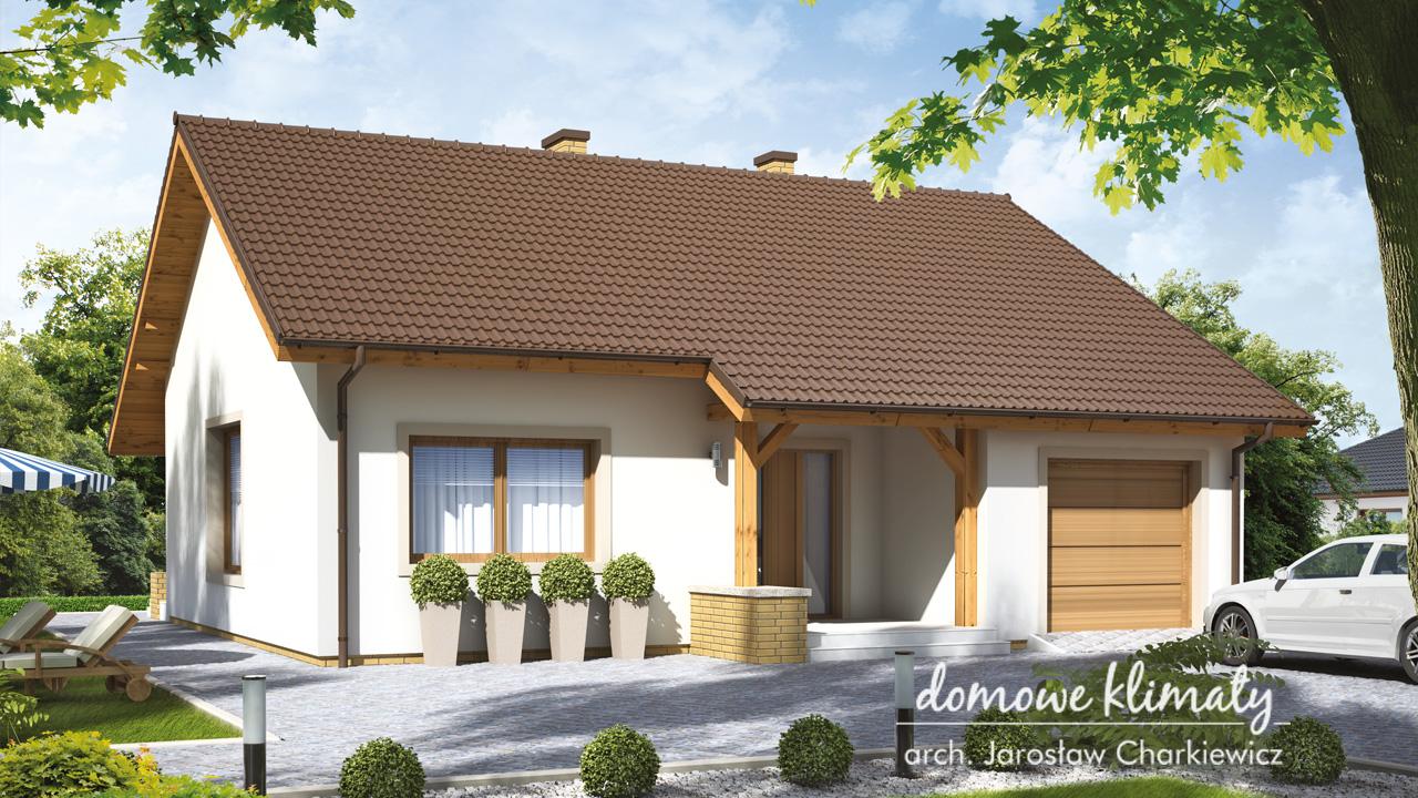 Projekt domu - Brzdąc