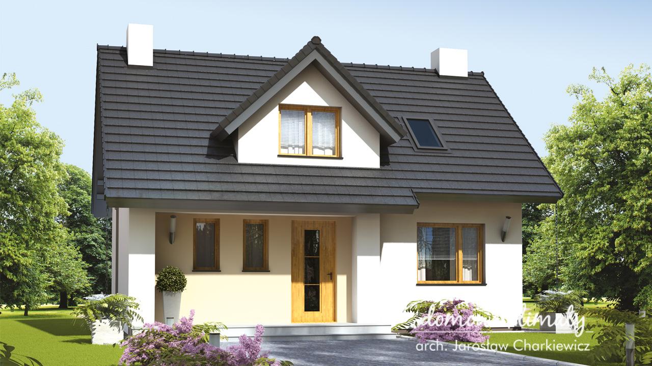 Projekt domu - Czajka