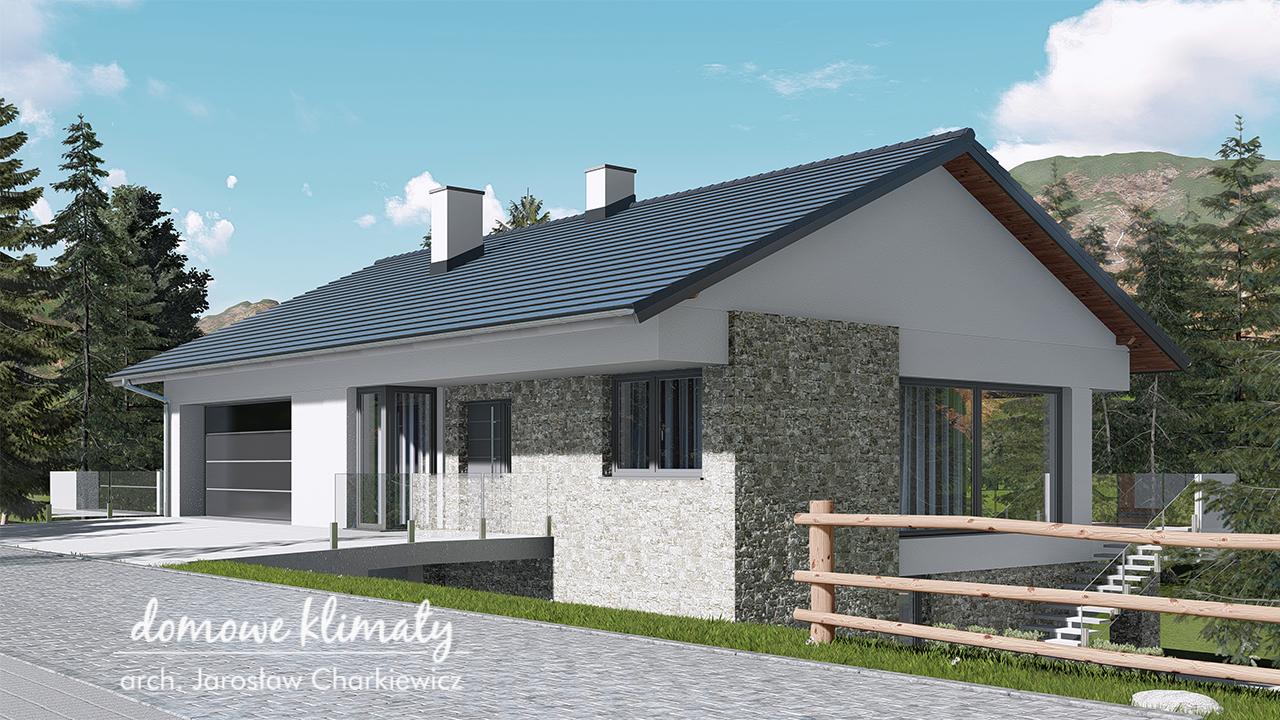 Projekt domu - Dom na Stoku 4