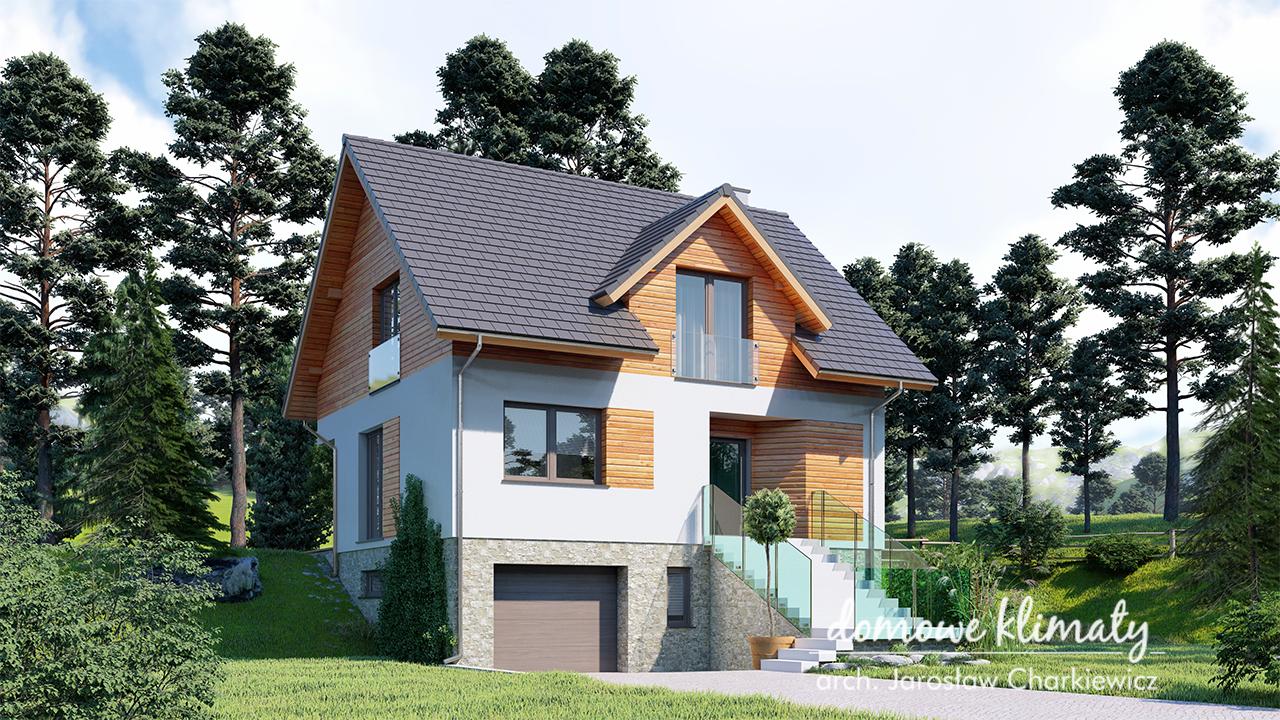 Projekt domu - Dom na stoku