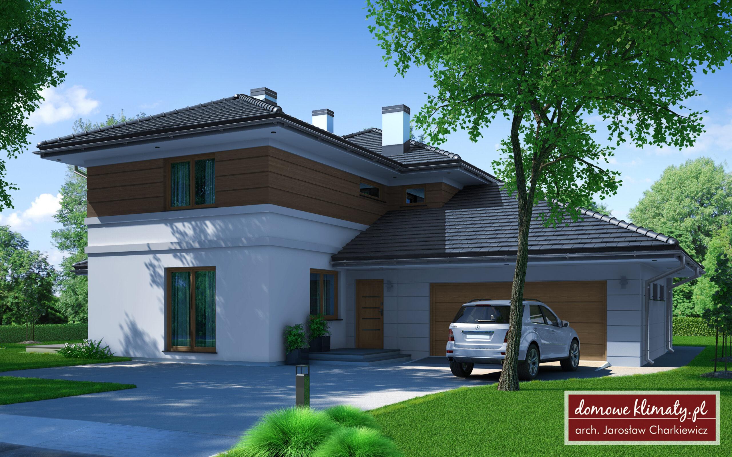 Projekt domu - Dwupokoleniowy V