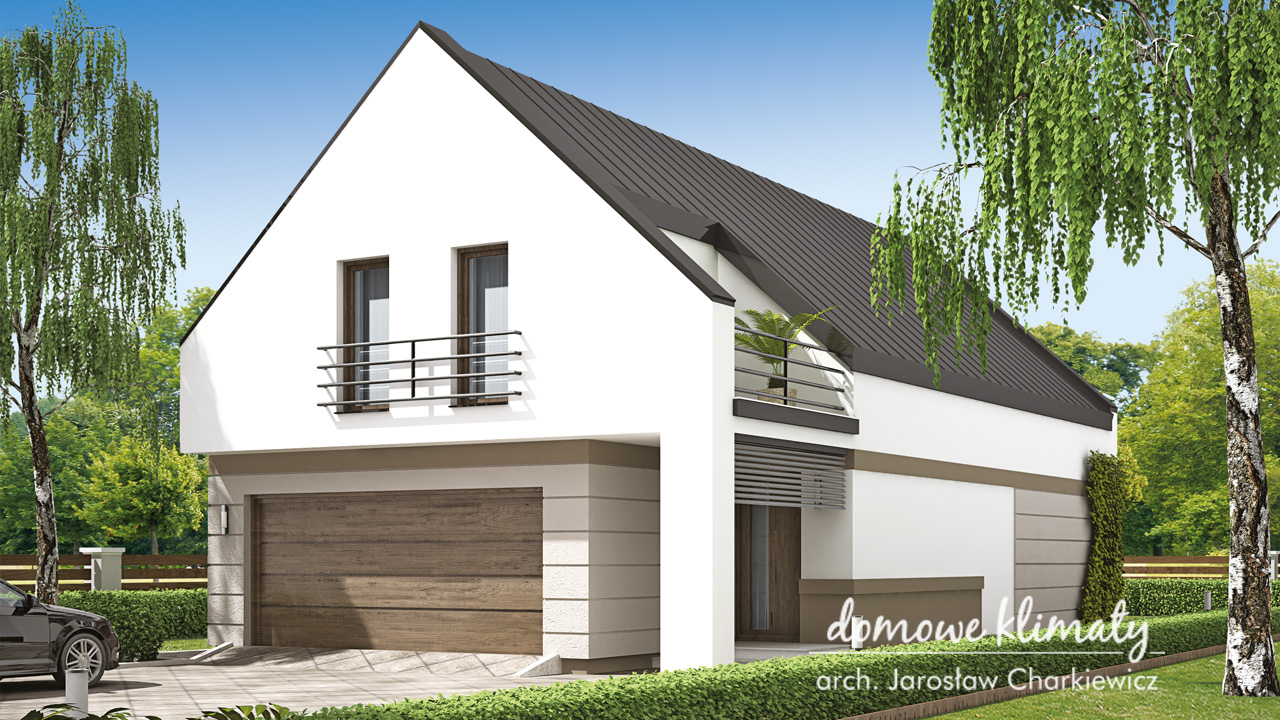 Projekt domu - Eskulap