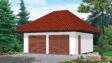 Projekt domu - Garaż GK-1