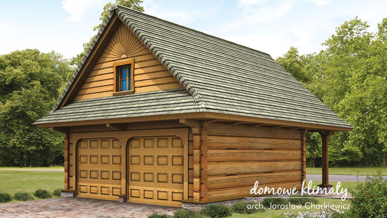 Projekt domu - Garaż GD-3