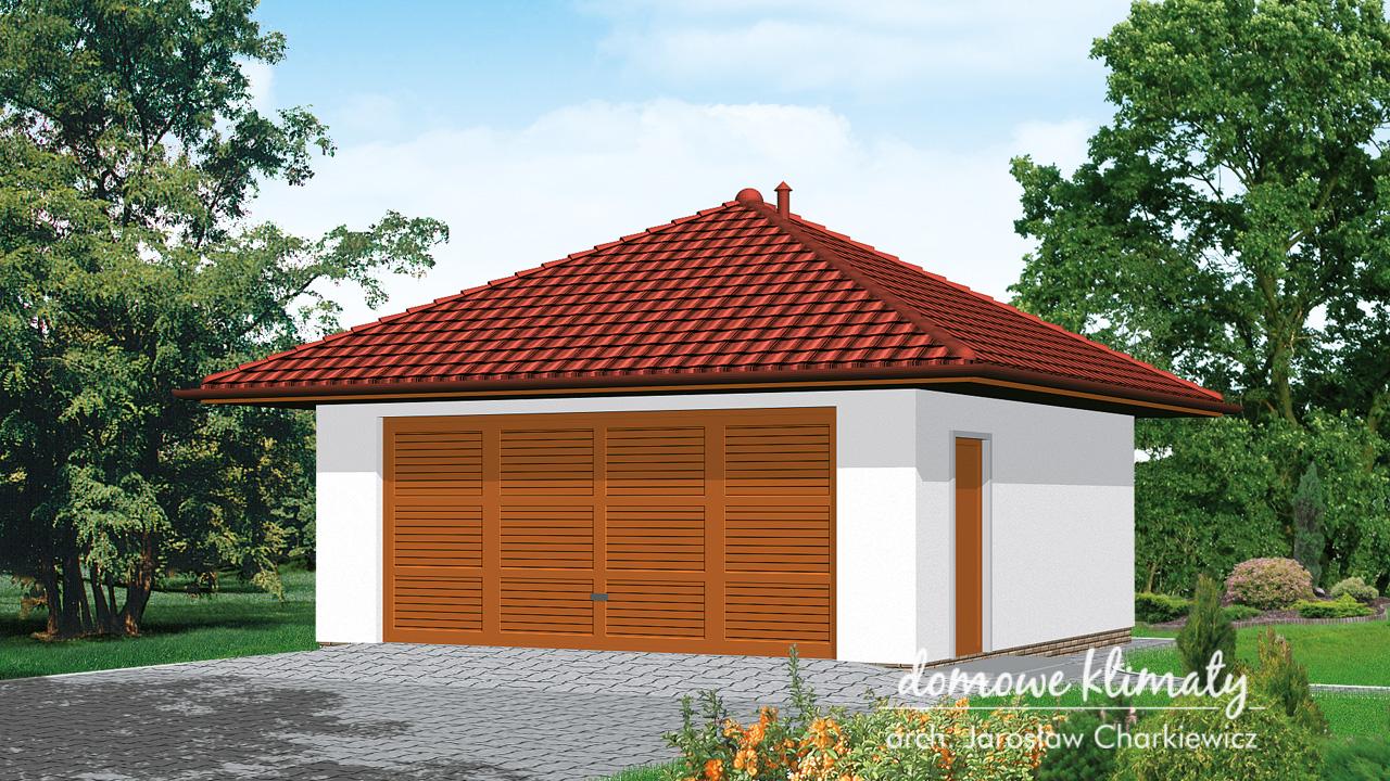Projekt domu - Garaż GL-1
