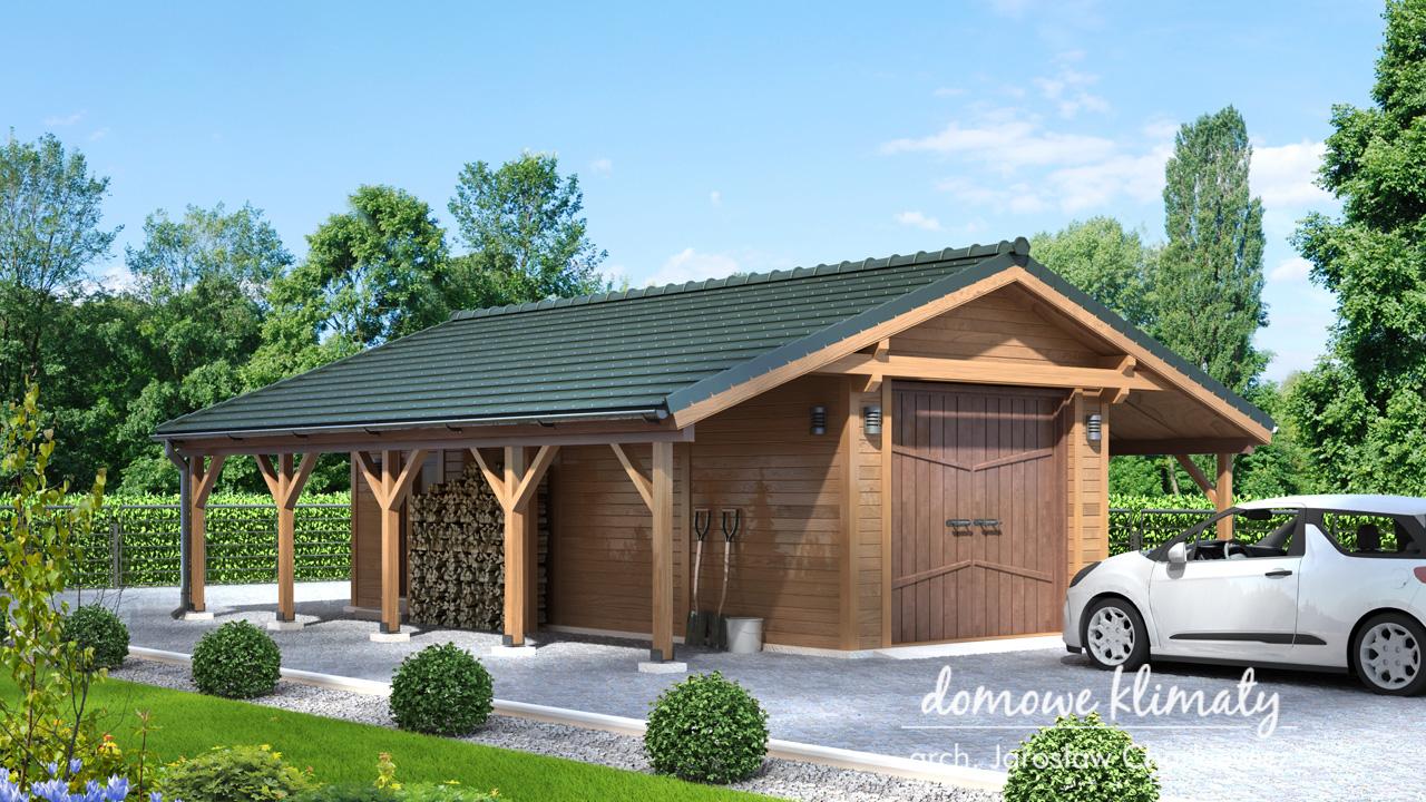 Projekt domu - Garaż GW-2