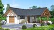 Projekt domu - Garaż z wiatą GW-1