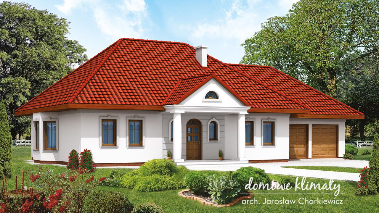 Projekt domu - Goździk