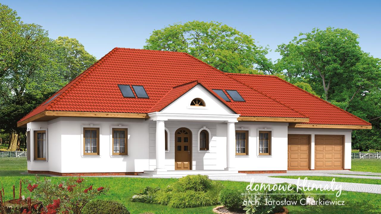 Projekt domu - Goździk II
