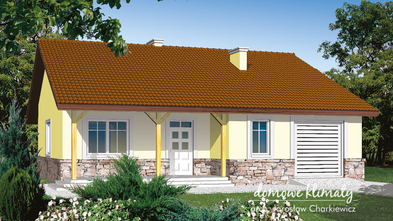 Projekt domu - Gryf