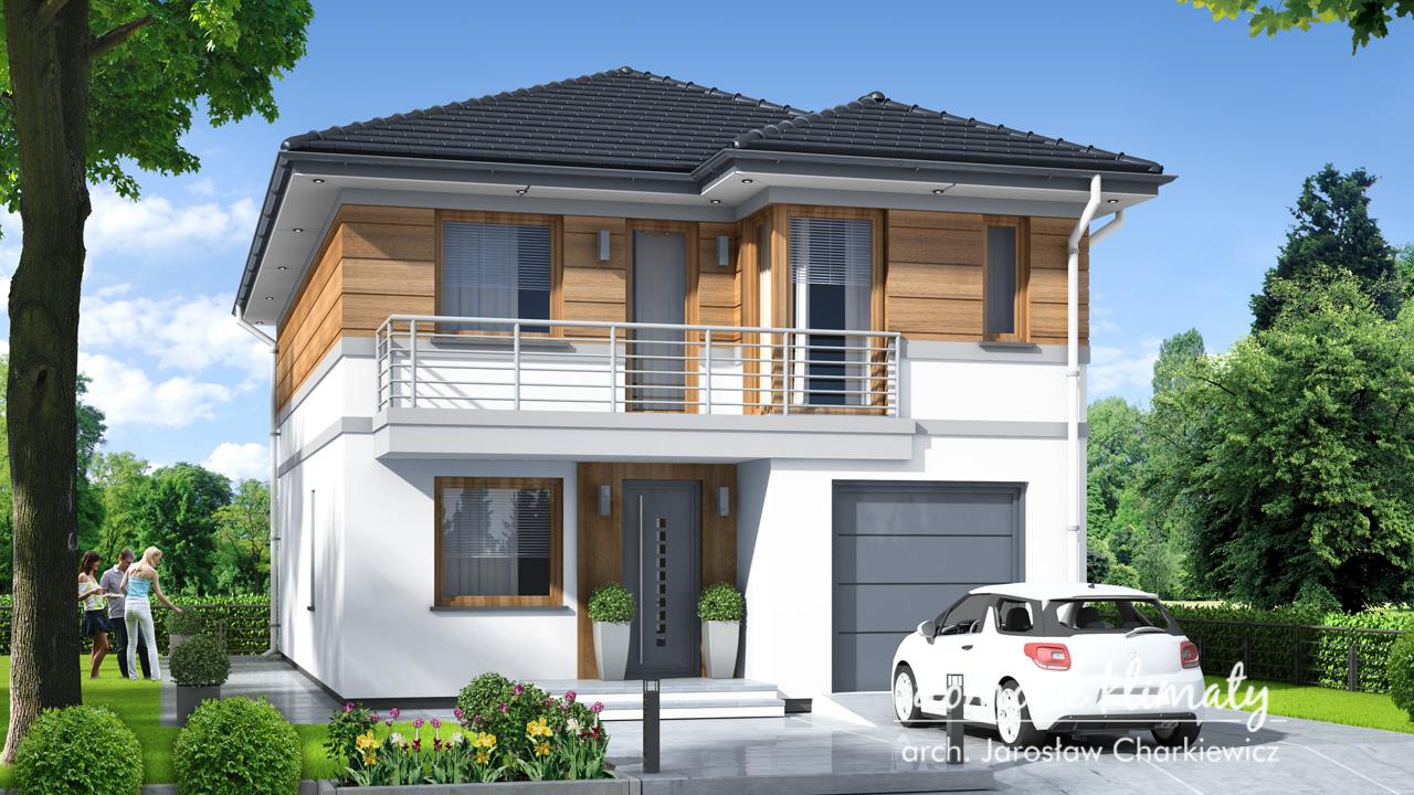 Projekt domu - Guliwer