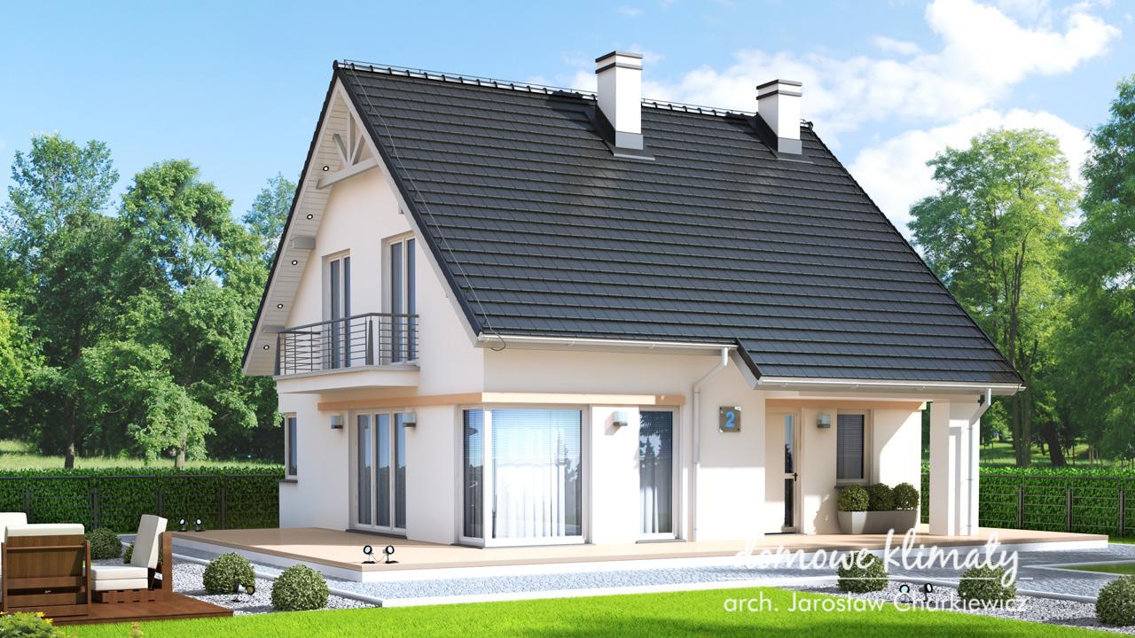 Projekt domu - Helios