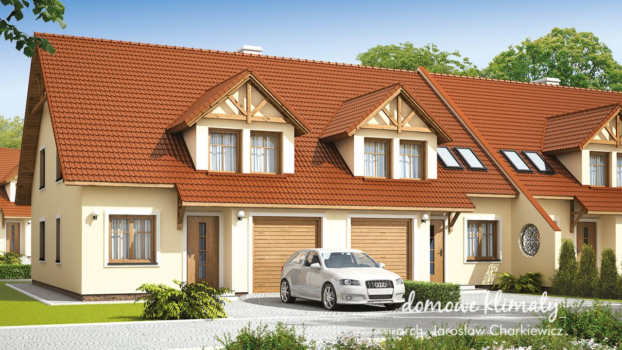 Projekt domu - Jeżyna