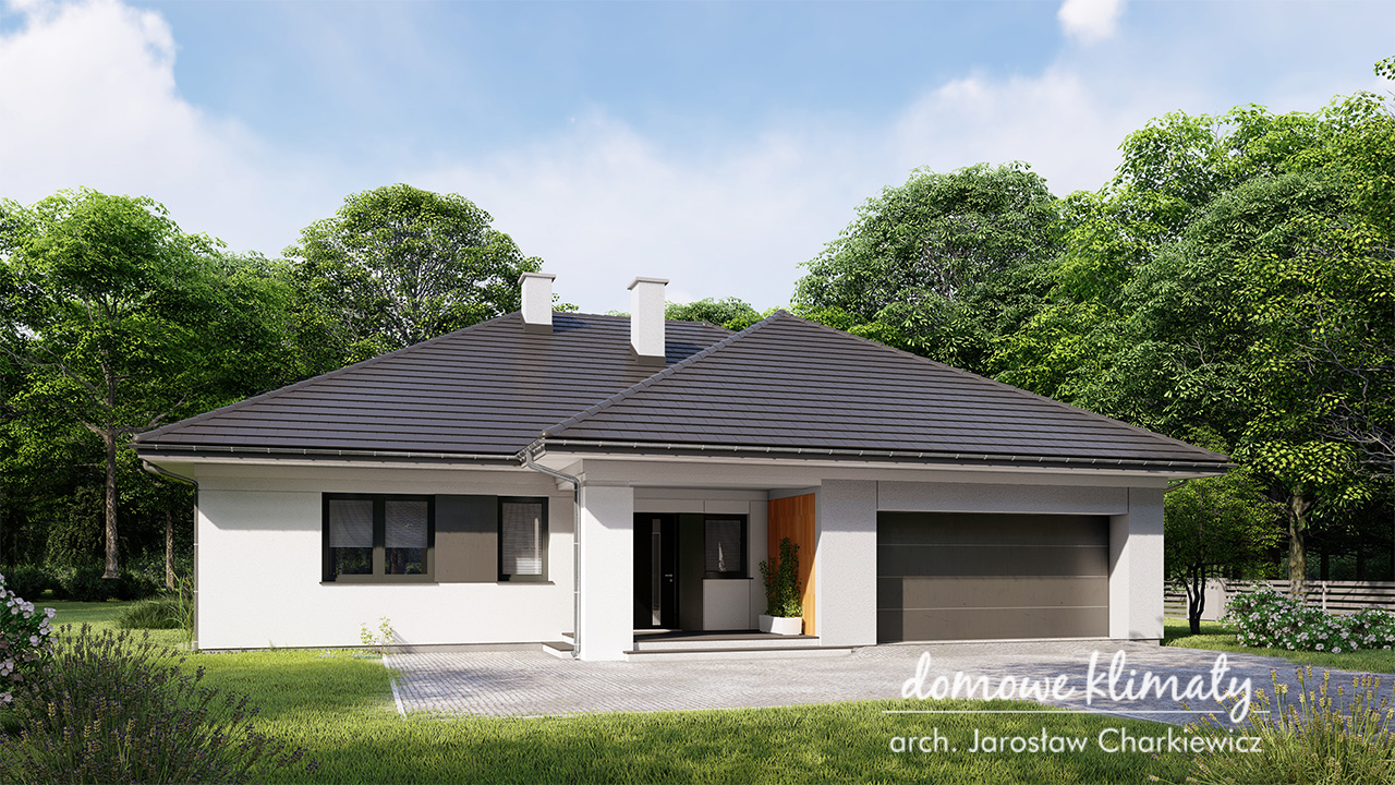 Projekt domu - Kaprys