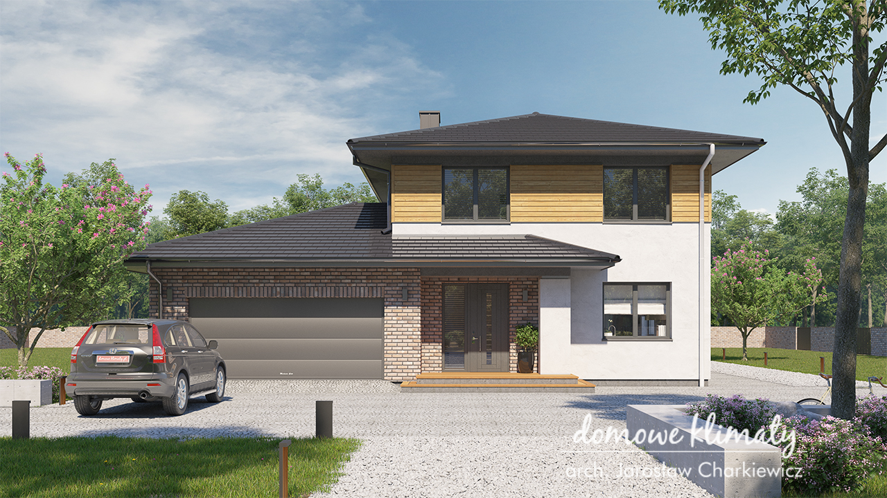 Projekt domu - Kasjopea II G2