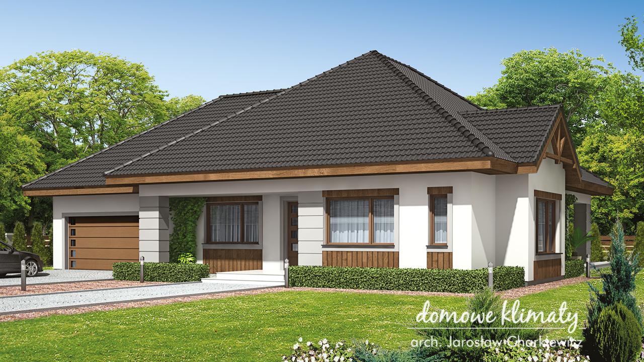 Projekt domu - Maciejka